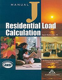 Manual J Design Load Calculation